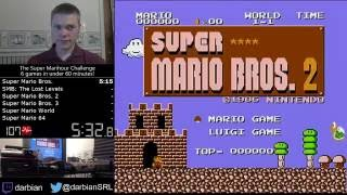 The Super Marihour Challenge - 6 games in under 60 minutes!