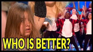 Top 10 BEST DANCE MOMENTS on WORLD TALENT SHOWS in 2018