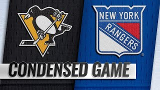 03/25/19 Condensed Game: Penguins @ Rangers