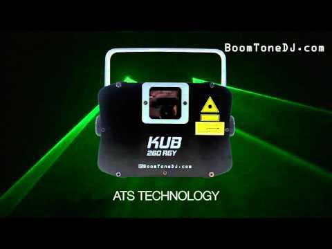 Vidéo BoomToneDJ - KUB 260 RGY