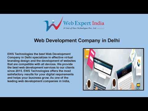 Why Choose a Web Development Company in Delhi