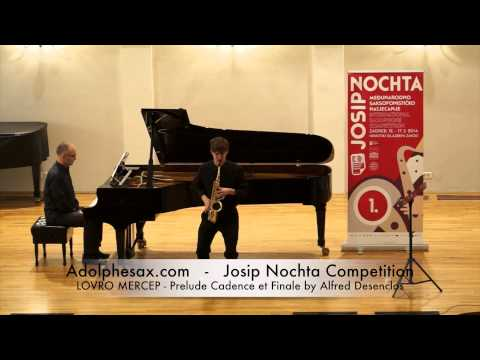 Josip Nochta Competition LOVRO MERCEP Prelude Cadence et Finale by Alfred Desenclos
