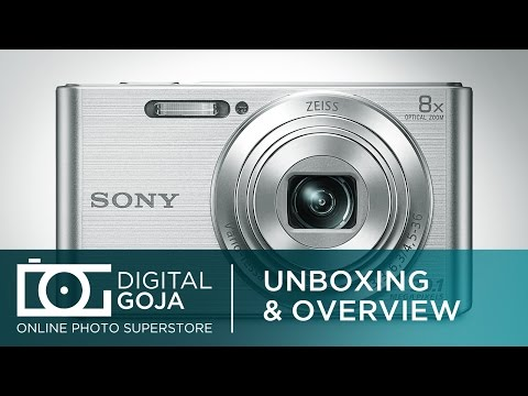 video Sony DSC-W830 Digitalkamera (20,1 Megapixel, 8x optischer Zoom, 6,8 cm (2,7 Zoll) LC-Display, 25mm Carl Zeiss Vario Tessar Weitwinkelobjektiv, SteadyShot) schwarz