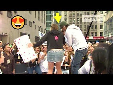 Enrique Iglesias - Escape LIVE 😍 Girl fan on stage!