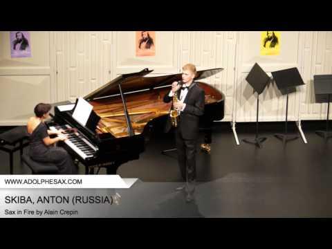 Dinant 2014 - SKIBA Anton (Sax in Fire by Alain Crepin)