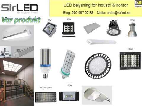Få high bay LED belysningssystem till rimliga kostnader