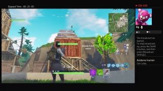 Javion211 live with fortnite battle Royale sniper shoot out and other game mode