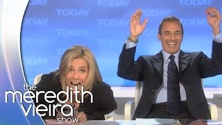 Matt Lauer Teases Meredith on Flubbing a Line! | The Meredith Vieira Show