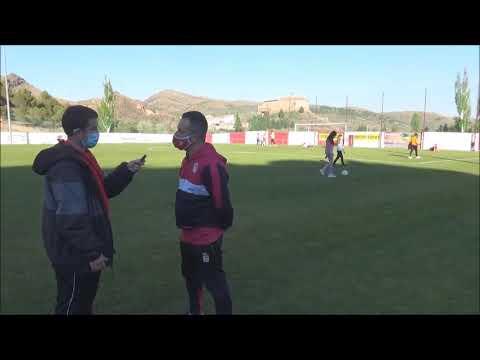JAVI ROMERO (Entrenador Illueca) CF Illueca 0-3 Sommos Barbastro / J 3 / 3ª División Fase Play Off