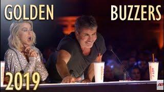 TOP 5 Best GOLDEN BUZZERS 2019!