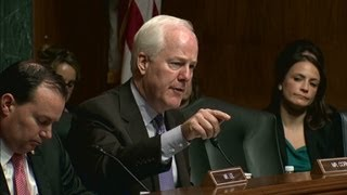 Senator and Attorney General have heated exchange