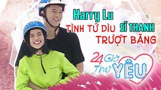 TIN TỨC SAO VIỆT | Harry Lu tình tứ dìu Sĩ Thanh trượt băng sau 7 năm thương thầm nhớ trộm 😘
