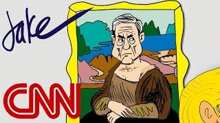 Trump and the 'Mueller Lisa' I Drawn by Jake Tapper