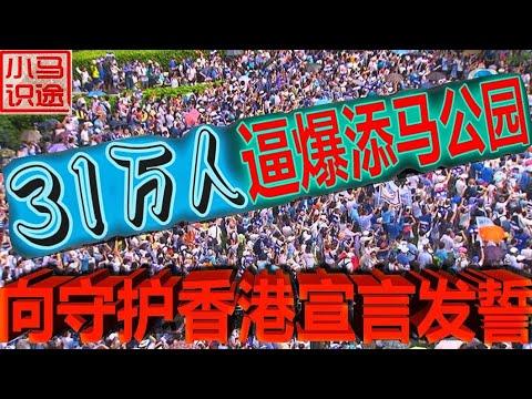 31.6万人逼爆添马公园, 向720守护香港宣言发誓! 艺人叻哥(陈百祥)和肥妈挺身而出! (小马识途582期)