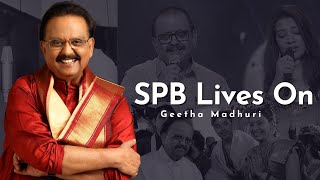 Your legacy lives on: Geetha Madhuri's tribute to SP Balas..