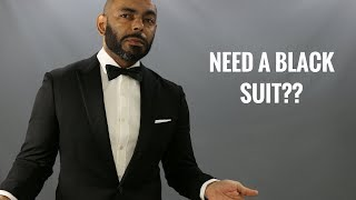 How And When To Wear A Black Suit/Do You Need A Black Suit?/Pros And Cons Of Black Suits