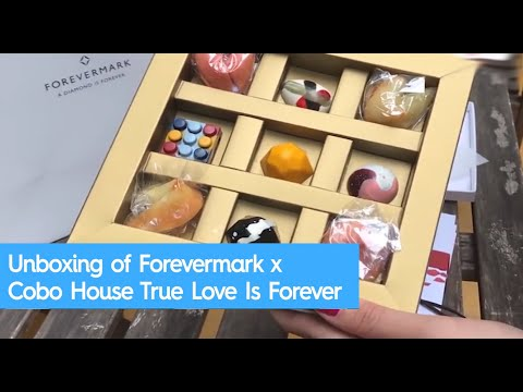 Unboxing of Forevermark x Cobo House True Love Is Forever