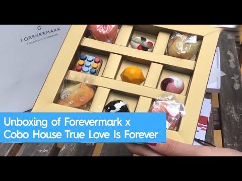 Unboxing of Forevermark x Cobo House True Love Is Forever