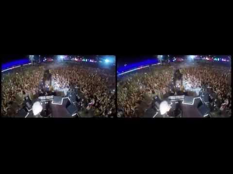 Selfie Stick Video |3-D| Rock in Rio [September 18, 2015] - Brian May