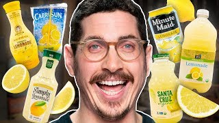 Grocery Lemonade Taste Test
