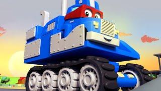 Video về xe tải dành cho thiếu nhi - XE XÚC - Siêu xe tải Carl 🚚⍟ những bộ phim hoạt hình về xe tải
