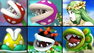 All Piranha Plant Species Viridi Mentions in Palutena Guidance in Smash Bros Ultimate (References)