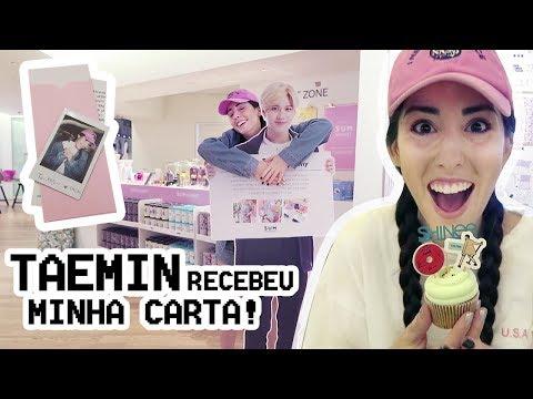 Café da SM + Cartinha pro Taemin + Pagando mico na rua