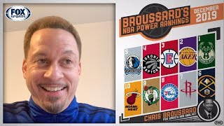 Chris Broussard's NBA Power Rankings for December | FOX SPORTS