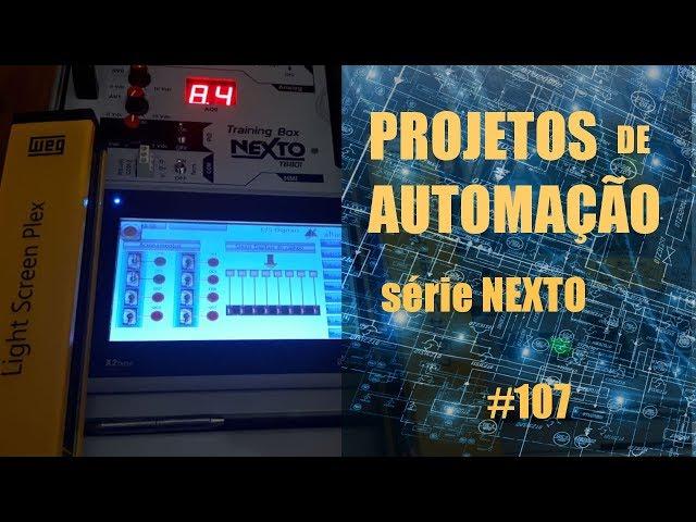 BARREIRA LUMINOSA COM CLP NEXTO | Projetos de Automação #107