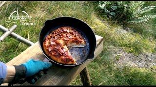 Земляная печь и походная пицца DIY primitive  oven