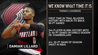 Inside the NBA Reacts to Damian Lillard's 61 Point Game vs Mavericks | August 11, 2020