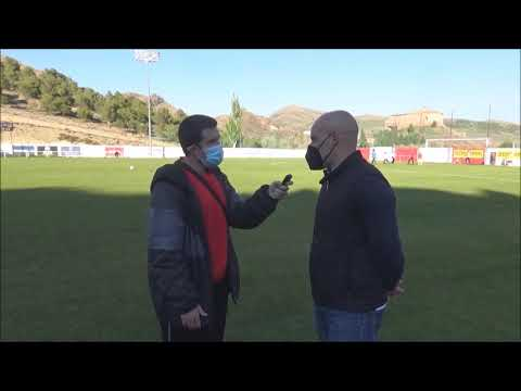 DANI MARTÍNEZ (Entrenador UD Barbastro) CF Illueca 0-3 Sommos Barbastro / J 3 / 3ª División Fase Play Off