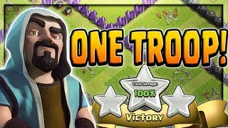 One Troop, Three Stars | Clash of Clans | Unusual Attacks of All Kinds