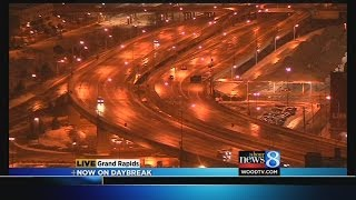 Icy roads, many closings and delays