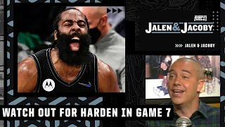 The Bucks should be worried about James Harden in Game 7 - David Jacoby   Jalen & Jacoby