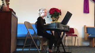 Bethany, age 7, Friendship Church clips from 30 minute Christmas service 12-16-2018
