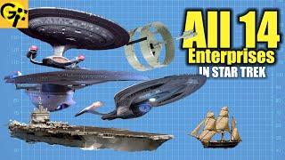 All 14 Enterprises in Star Trek Explained