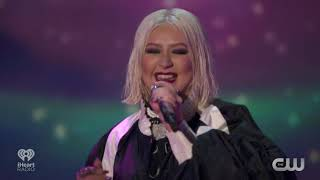 iHeartRadio LIVE: Christina Aguilera Celebrating The Xperence Las Vegas Launch #iHeartXtina