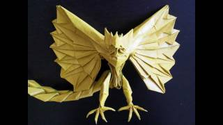 Origami Phoenix - by tadashimoris tutorial