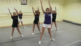 How to Do Cheerleading Dance Combinations