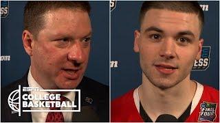 Texas Tech's Matt Mooney, Chris Beard on Final Four win | College Basketball Sound