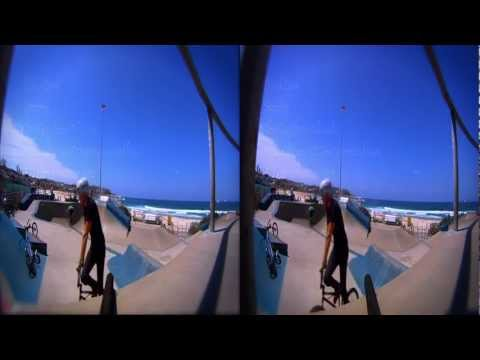 Bondi in 3D - GoPro 3D BMX Movie