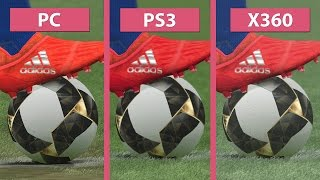 PES 2017 – PC vs. PS3 vs. Xbox 360 Graphics Comparison