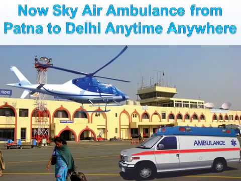 Get an Emergency Sky Air Ambulance from Delhi to Mumbai at an Economical Fare