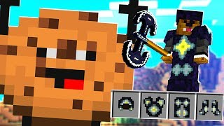 NEW STAR POWERED ARMOR MOD *LAVA MAP* IN COOKIE CAMP | MINECRAFT MODDED MINIGAME minecraft roleplay
