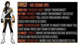 Overwatch: New Hero Concept, Virgo!