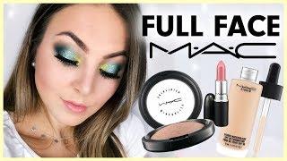 FULL FACE MAC ⁉️🙌🏼  One Brand Make Up Tutorial deutsch