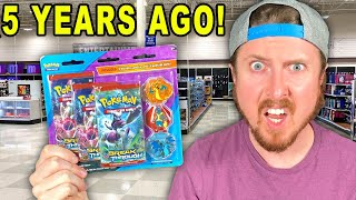 Most Random *MEGA CHARIZARD* from 5 YEARS AGO Found in a Meijer Pokemon Cards Restock! -Pack Opening