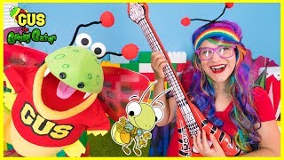 BUG SONG FOR KIDS Body Parts Exercise and Dance with Gus and Rainbow