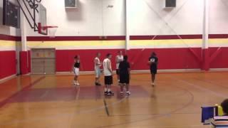 No mercy in 3 on 3 basketball (Men vs Women)
